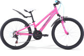 "Велосипед '19 Merida Matts J24 Girl Колесо:24"" Рама:One Size Pink/Blue/Grey"